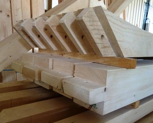 Charpente bois tenon mortaise obtenez des for Cheville bois pour charpente